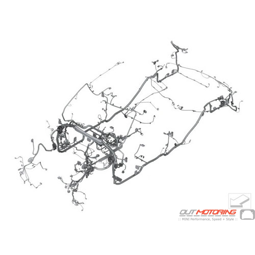 61112357999 MINI Cooper Replacement Main Wiring Harness