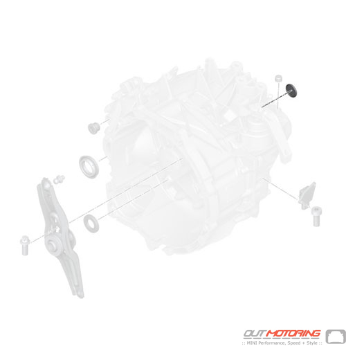 23008691723 Mini Cooper Replacement Parts Sealing Cover