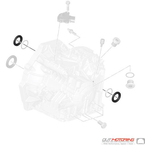 Corteco 24277560915 Mini Cooper Replacement Parts Shaft