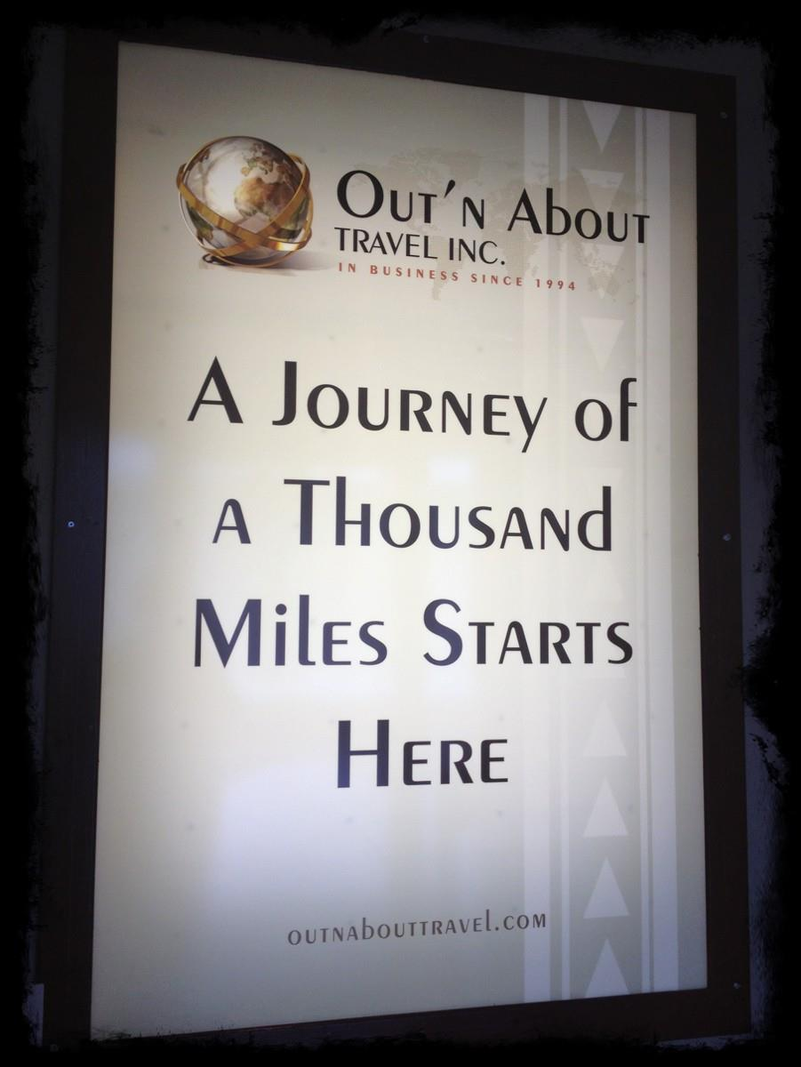 A Journey of a Thousand Miles Starts Here