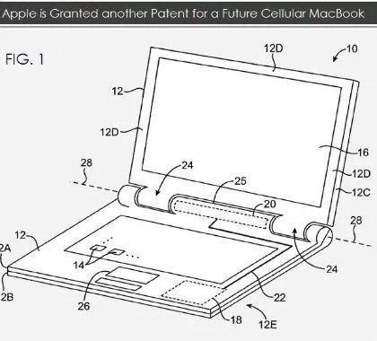 Apple brevetta l'antenna LTE per il collegamento internet