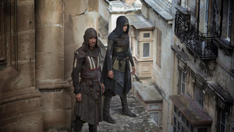 Aguilar (Michael Fassbender) and Maria (Ariane Labed)