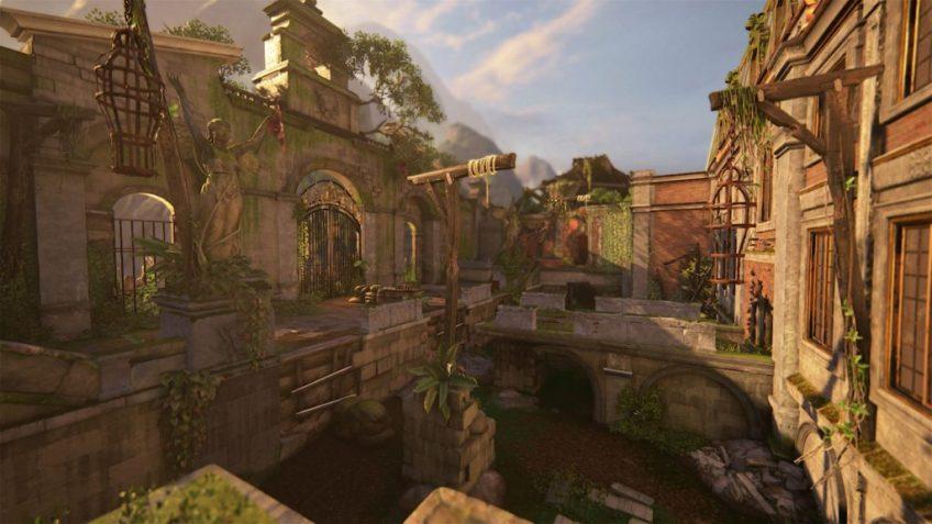 Uncharted 4 Sunken Ruins