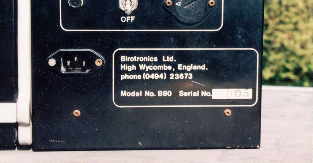 Birotron B90 #008