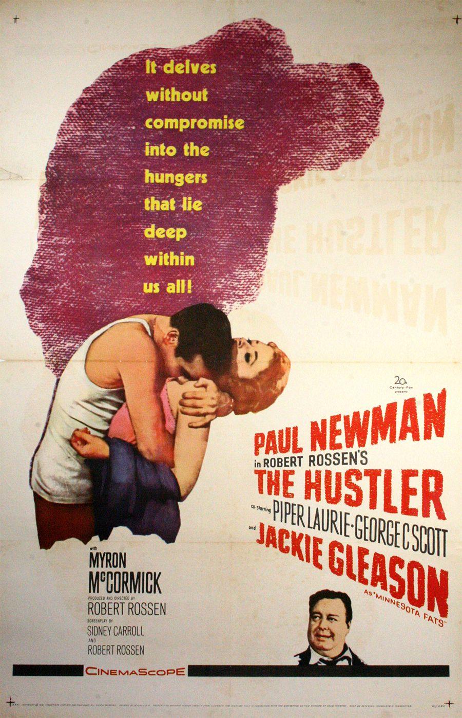 The movie poster for The Hustler