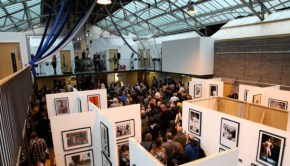 A very busy photography exhibition at The Out of the Blue Drill Hall