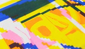 Hannah Nugent Risograph Design Print