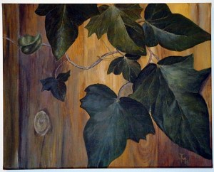 IVY Acrylic on canvas board 61 cm x 46 cm (ready to hang) Price: £145.00