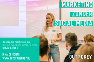 marketing zonder social media training