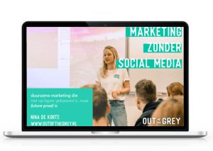 cursus marketing zonder social media