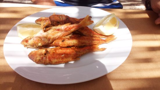 Greek Fish Dinner