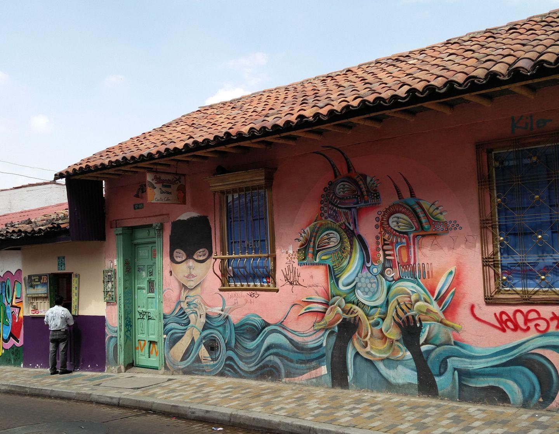 Bogotá's Amazing Street Art