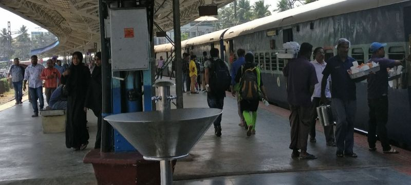 An Indian Railway Station