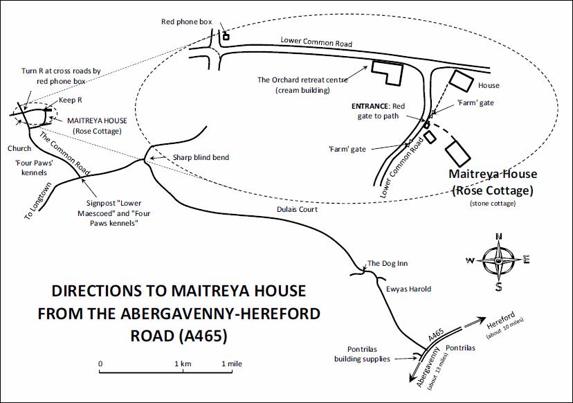 Maitreya House Location