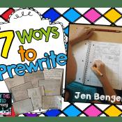 7 Ways to Prewrite
