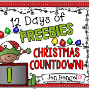 12 Days of Freebies: Day 1 AND Half Off!