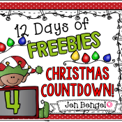 12 Days of Freebies: Day 4 AND Half Off!