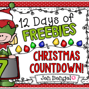 12 Days of Freebies: Day 7 AND Half Off!