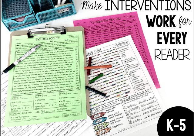 Join me in my very first LIVE…FREE…Webinar!  Make Interventions Work for Every Reader!
