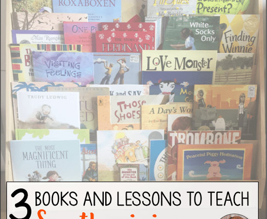 3 Books and Lessons for Teaching Synthesizing