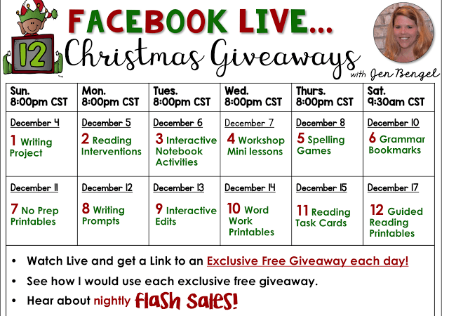 12 Days of Christmas Giveaways: Day Two