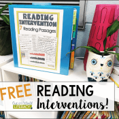Try The Reading Intervention Program for Free!