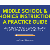 Middle School and Phonics Instruction: A Practical Guide