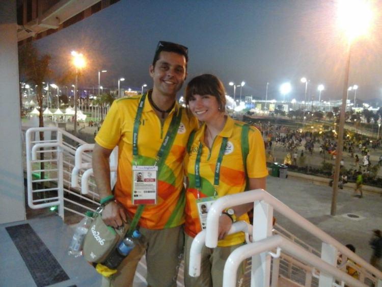 Rio 2016 Uniforme Voluntarios