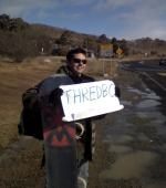 Hitchhiking Thredbo