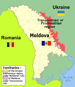 Transnistria map