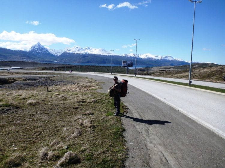 Walking Ushuaia Airport