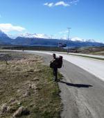 Walking Ushuaia Airport