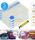 plastic bags that compress clothes