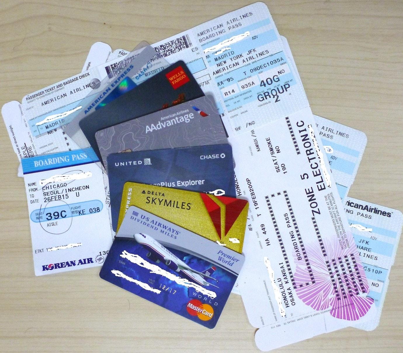 Credit card miles