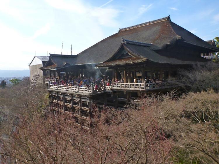 Kiyomizu-dera em Kyoto