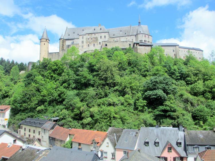 Castelo Vianden, Luxemburgo