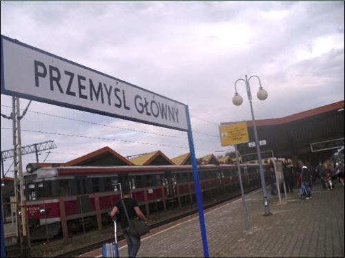 Estação de trem de Przemysl