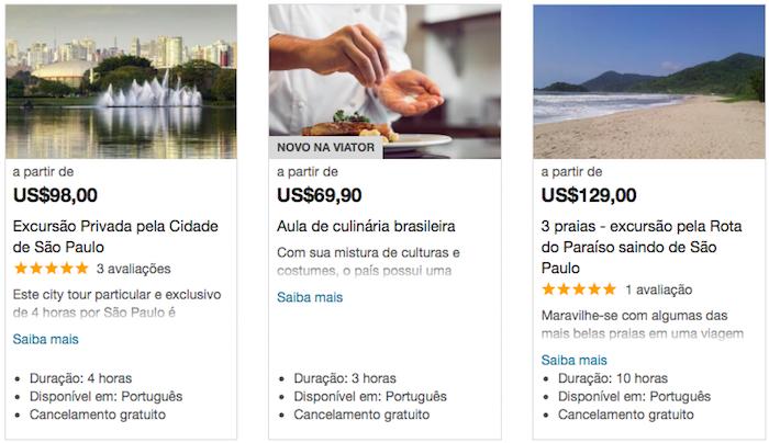 Passeios São Paulo