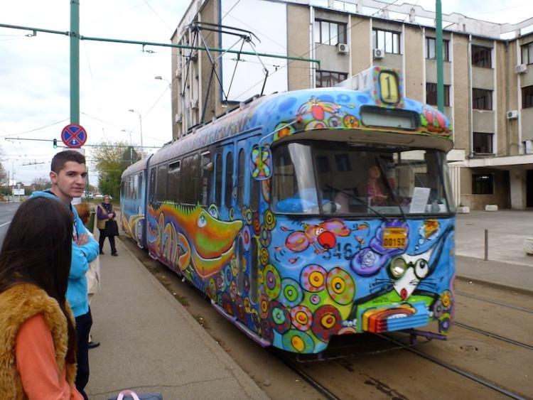 Tram Timisoara