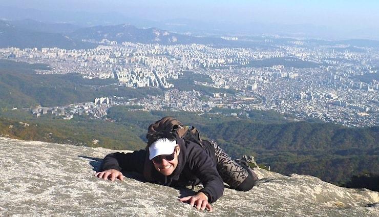 Bukhansan Baegundae Peak
