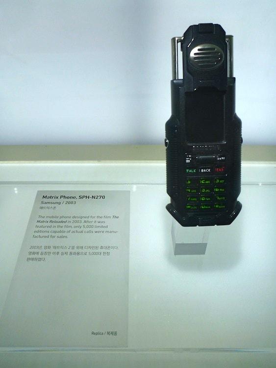 Telefone celular do Neo do Matrix
