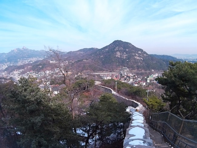 Seoul Fortress Wall