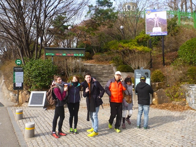Inwangsan Mountain Start