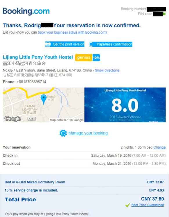 Cheap Accommodation China