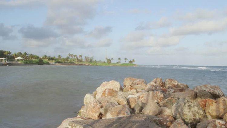 Praia na Jamaica
