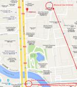 Bus Terminal Beijing Muxiyuan (木樨园客运站) map