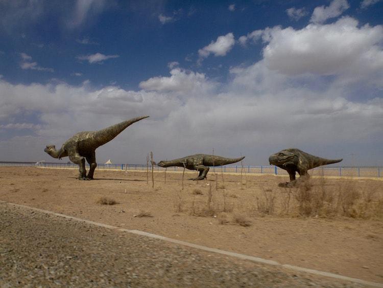 Erenhot Erlian Dinossauros