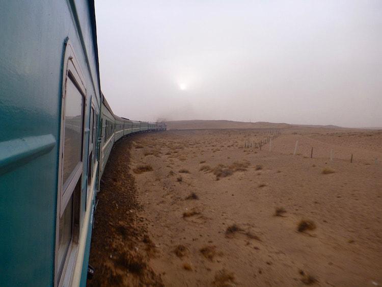 Hard Sleeper Train Transiberian Mongolia China