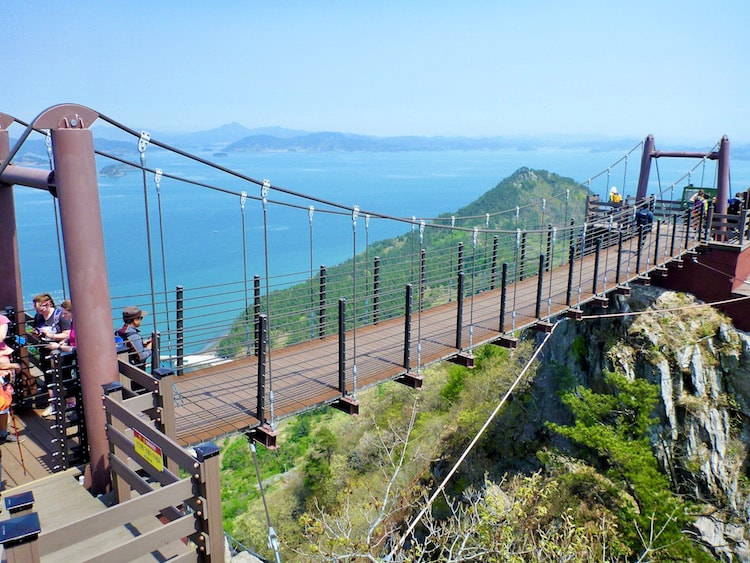 Ponte em Sarando na Coreia do Sul