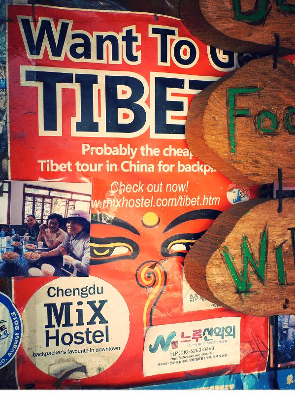 Tour de Tibete poster